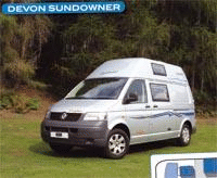 Motorhome review - Head to head Devon Sundowner and Timberland Discovery XI from 2007