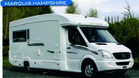 Motorhome review - head to head between the Bessacarr E695 Elegance and the Marquis Hampshire