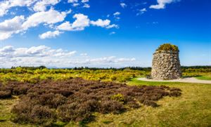 1 Memorial Cairn at the battlefield of Culloden rphfoto stock.adobe.com
