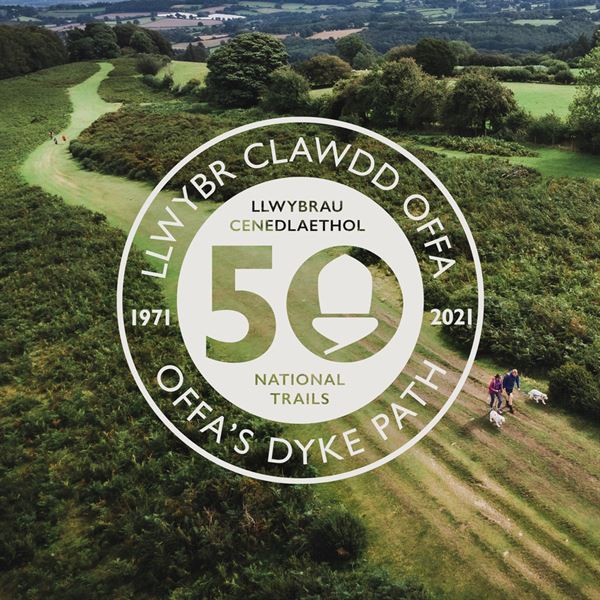 Offa's Dyke Path National Trail celebrates 50 years