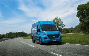 The new E-Ducato