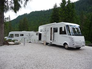 The Niesmann Flair, one of the original motorhomes stocked by Travelworld when the partnership started in 2009