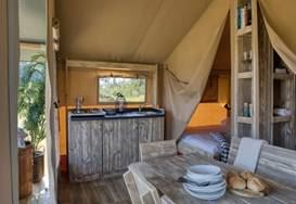 Club introduces authentic safari tents to Isle of Wight site