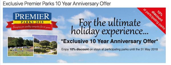 Save 10% at selected Premier Parks