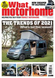 What Motorhome's December/January 2021 issue is out now!