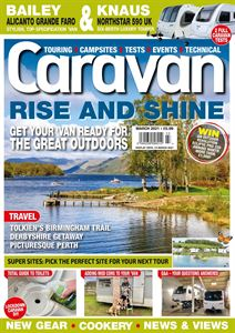 The March 2021 issue of Caravan magazine is available to download from today!