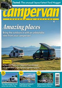 Download the February 2021 issue of Campervan magazine