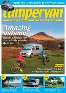 Download the November 2020 issue of Campervan magazine
