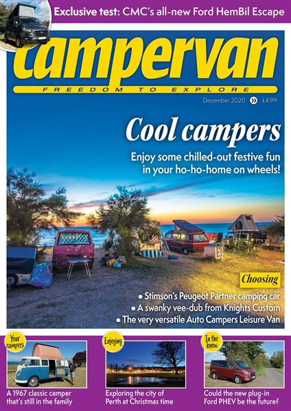 Download the December 2020 issue of Campervan today