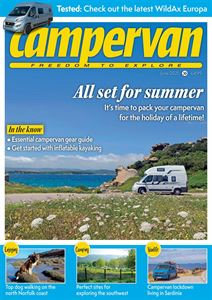 Download the June 2021 issue of Campervan magazine — which will ensure you're all set for summer — today!