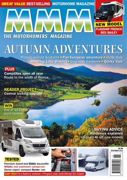 MMM November 2019 issue front cover