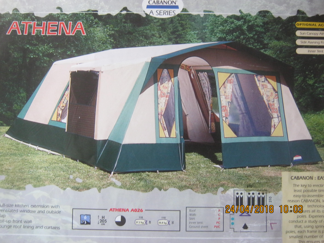 Cabanon A Series Athena A026