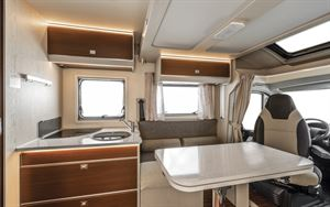 Inside the Rimor Seal 99 Plus motorhome