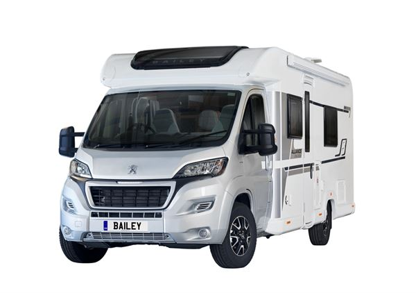 Bailey's special edition Alliance motorhome