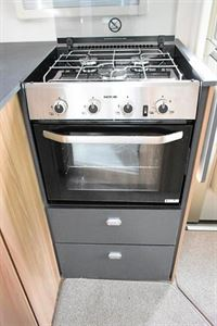 Combined oven and grill