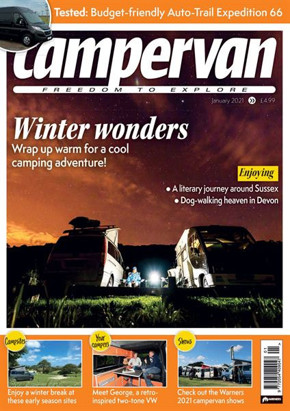 CAMPERVAN JANUARY 2021