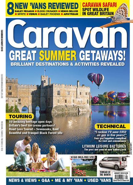 CARAVAN AUGUST ISSUE