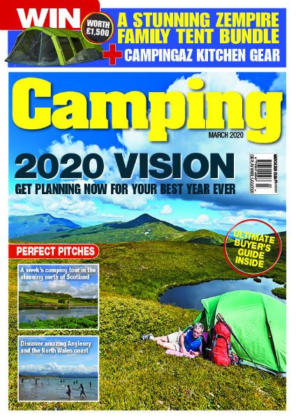 CAMPING MARCH 2020