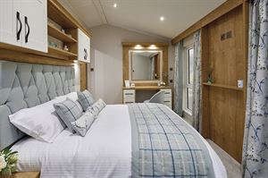 Willerby Dorchester bedroom (photo courtesy of Willerby)