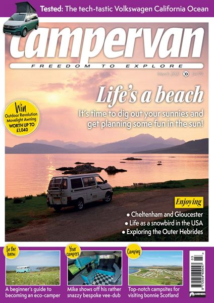 CAMPERVAN MARCH 2021