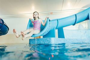 Lots of fun for kids in the indoor pool