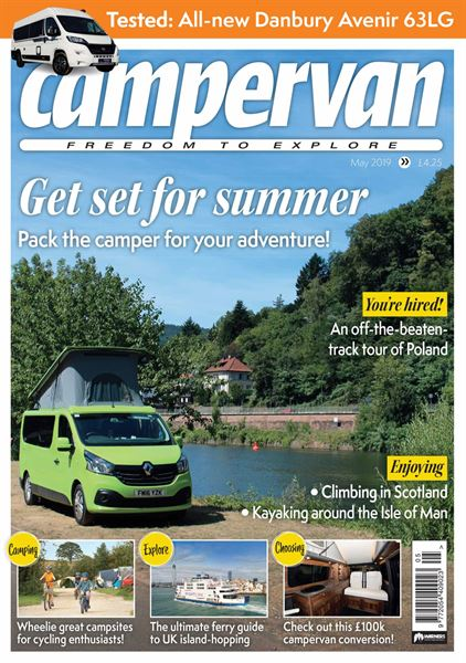 CAMPERVAN MAY 2019
