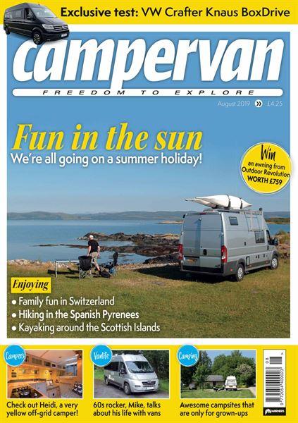 CAMPERVAN AUGUST 2019 ISSUE