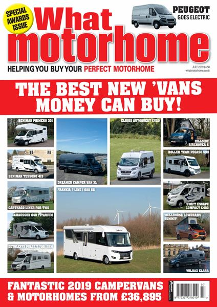 WHAT MOTORHOME JULY 2019 ISSUE