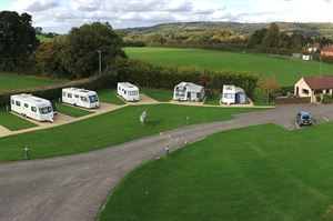 Wells Touring Park is an adults only site in Somerset