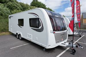 One of two 2.45m-wide new models in the Elddis Avanté range; this is the 840