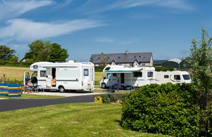 Ballyness is an immaculate caravan park