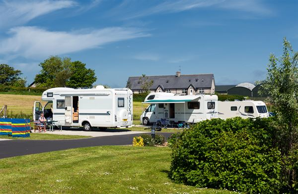 Ballyness is an immaculate caravan park