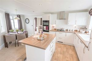 The kitchen in the new Prestige Homeseeker Anthem park home
