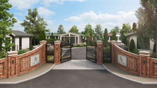 Kings Meadow Residential Park entrance