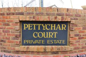 The entrance to PettyChar Court