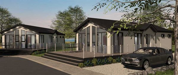 Tingdene's latest Country Lodge woodland-theme holiday home