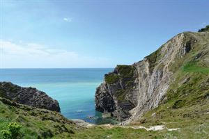 Lulworth Cove is also nearby