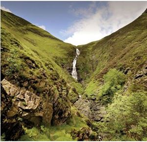 Image courtesy of Alamy - The Grey Mare's Tail, Dumfries and Galloway