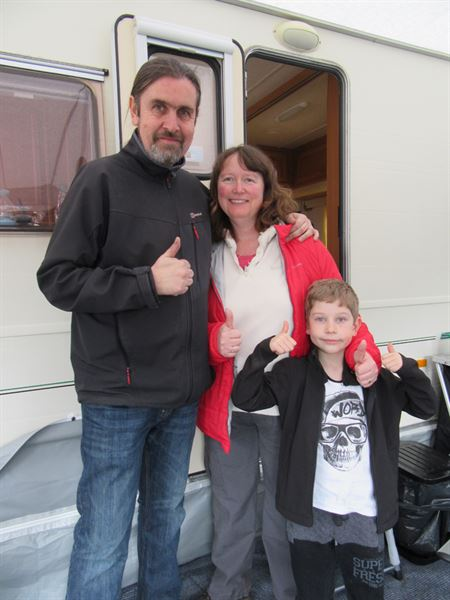 Family caravanning gets the thumbs up