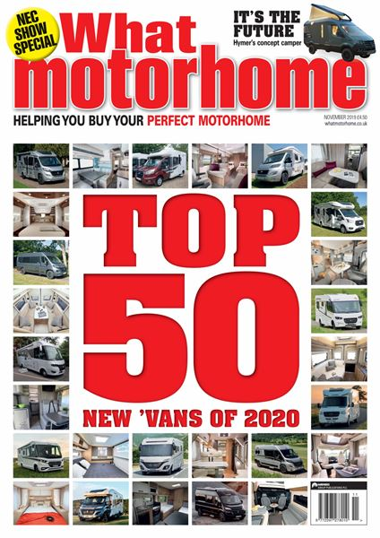 WHAT MOTORHOME NOVEMBER 2019