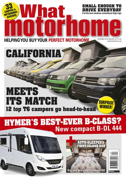 WHAT MOTORHOME DECEMBER/JANUARY 2017