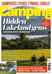 August issue of Camping