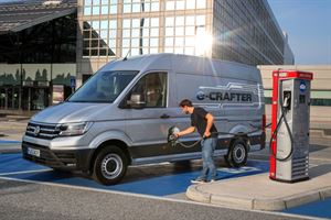 The electric VW Crafter