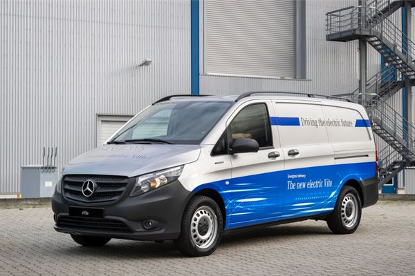 The eVito is now available to order from the nationwide Mercedes-Benz Vans Dealer network.