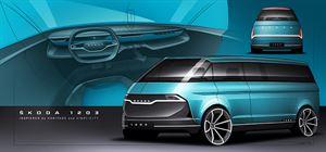 Skoda reveals concept campervan