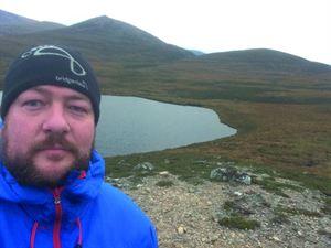 Camping editor Iain Duff