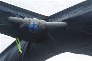 Inflation system isolation valve