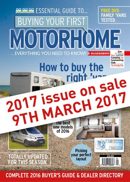 BUYING YOUR FIRST MOTORHOME 2017