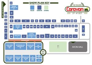 The Malvern Caravan Show - Exhibition Plan