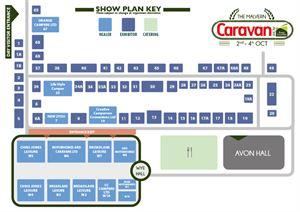 The Malvern Caravan Show - Exhibition Plan